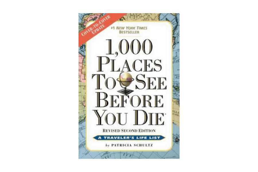 1,000 Places To See Before You Die is a great book to give to a woman who is chasing her bucket list
