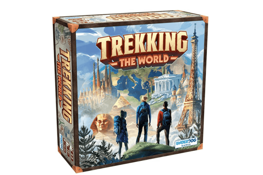 Trekking The World: A Globetrotting Family Board Game is a fun gift for women who love to travel