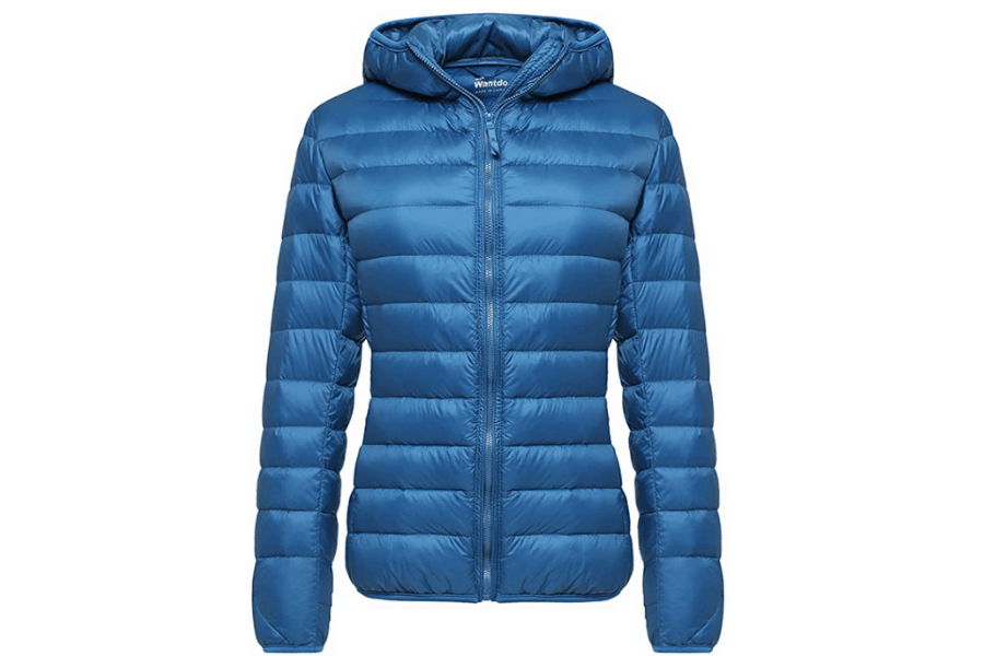 Women's Packable Light Weight Hooded Jacket is a great gift for her