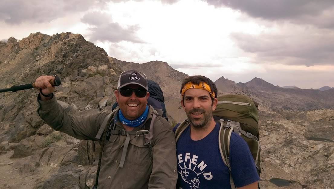 Brian Simpson & Eric Gamble Hiking the PCT from Mount Whitney to Mammoth California