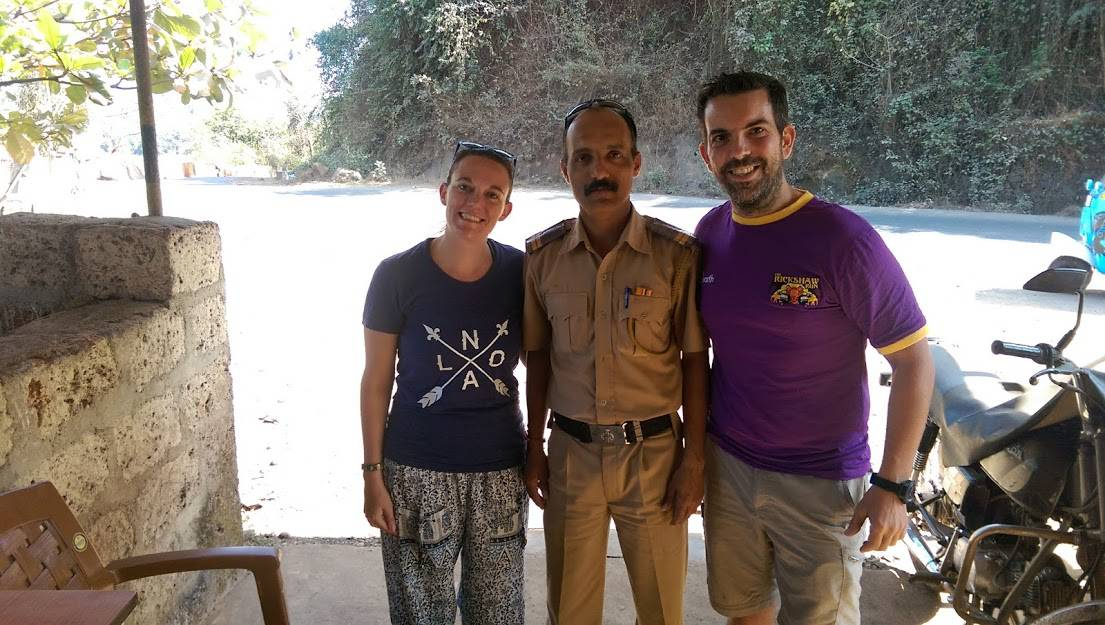 Darcee Snider stopped by the Police in India for being too cute